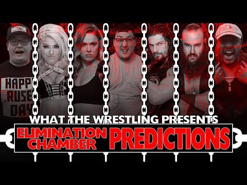 ROMAN WINNING THE CHAMBER? WHICH WOMAN WILL MAKE HISTORY? ||| Elimination Chamber 2018 Predictions!