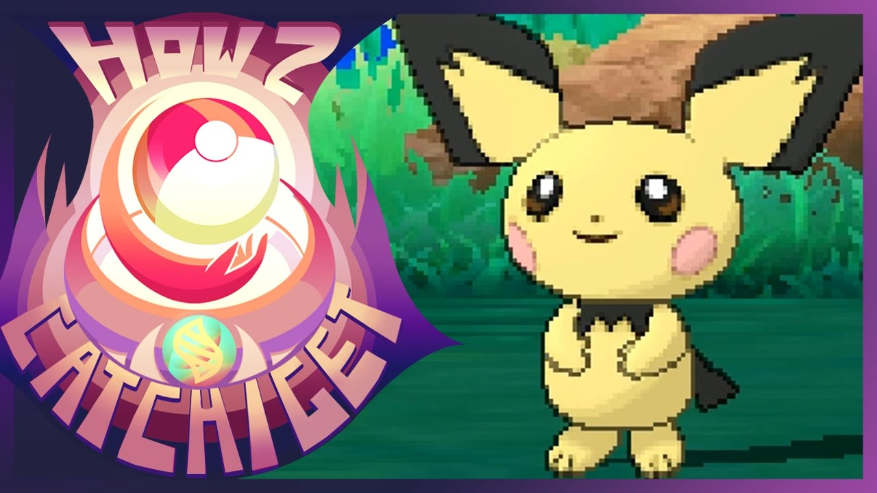 How & Where to catch/get Pichu in Pokemon Sun and Moon