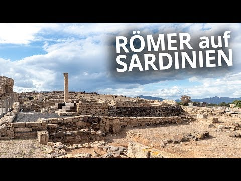 antike stadt auf sardinien