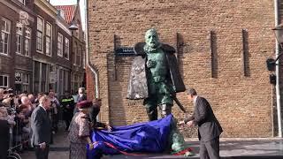 Fout op nieuw beeld van Willem van Oranje in Dordrecht