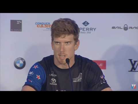 Team NZ's Peter Burling Condolences To McKee Family, June 2017