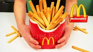 New!!! Торт из Макдональдс картошка фри | French fries cake