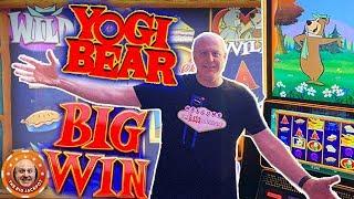 🧺FILLIN' UP MY PICNIC BASKET! 🧺How Much Will I Win on Yogi Bear Slots?! 🎰