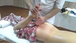 Делаем мануальный массаж   Как избавить пациента от защемления седалищного нерва
