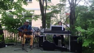 Открытие летней площадки рядом с центром народной культуры, Владивосток