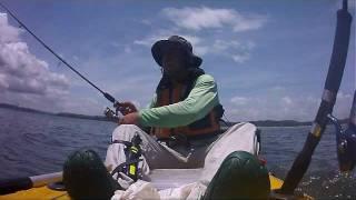 Pesca na Barra do Paraguaçú - BA.wmv