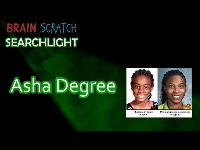 Asha Degree on BrainScratch Searchlight