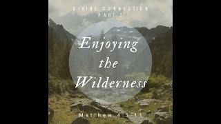 """Divine Connection Part 2 """"Enjoying The Wilderness"""" Matthew 4: 1 - 11"""