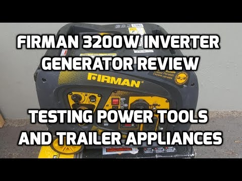 Firman 3200w Inverter Generator Review with Quiet Box