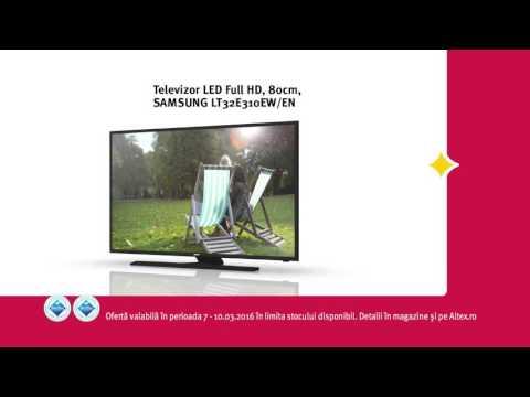 Reclamă ALTEX TV Samsung - martie 2016