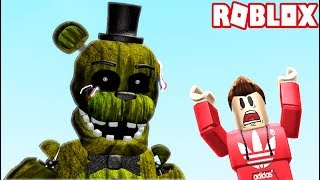 HARDEST FNAF OBBY IN ROBLOX! (RedHatter Roblox)
