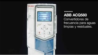 Video: Variadores ACQ580 de ABB para aguas limpias y residuales