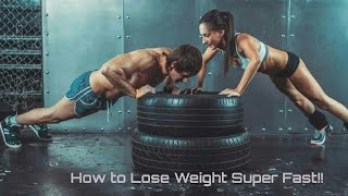 Lose Weight Upto 7kg In A Week | How To Lose Weight Fast | Lose Hips, Thighs & Bottocks Fat Quickly