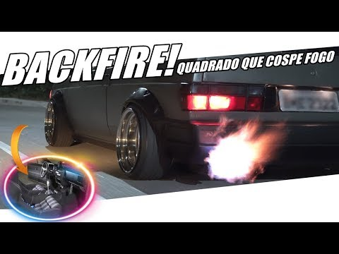 GOL ESTILO RACE COM BACKFIRE! LABAREDAS DE FOGO PELO ESCAPAMENTO - Canal 7008Films