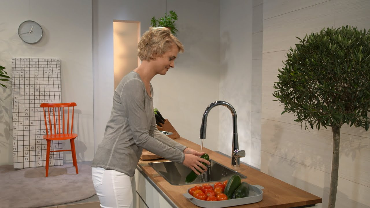 Kitchen Mixer Hanging Baskets For Hansgrohe Talis S 200 #72813000 - Youtube