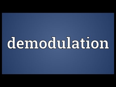 Demodulation Meaning