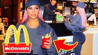 10 Celebrities Who Love McDonald's More Than You Do!!!