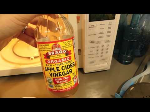 Cleaning Your Microwave with Apple Cider Vinegar! DIY!