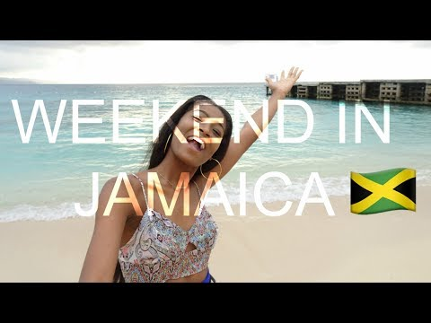 WEEKEND IN JAMAICA (Vlog #1) || @blaque.roses