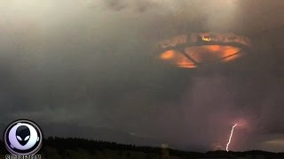 NEW Controversial Photo Of UFO Mothership In Storm Over Canada! 8/11/2015