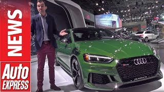 New Audi RS 5 Sportback arrives in New York - take the tour