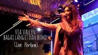 Via Vallen - Bagai Langit Dan Bumi Pop Koplo Terbaru 17 November 2018 Live Perform Gdg Sate Bandung