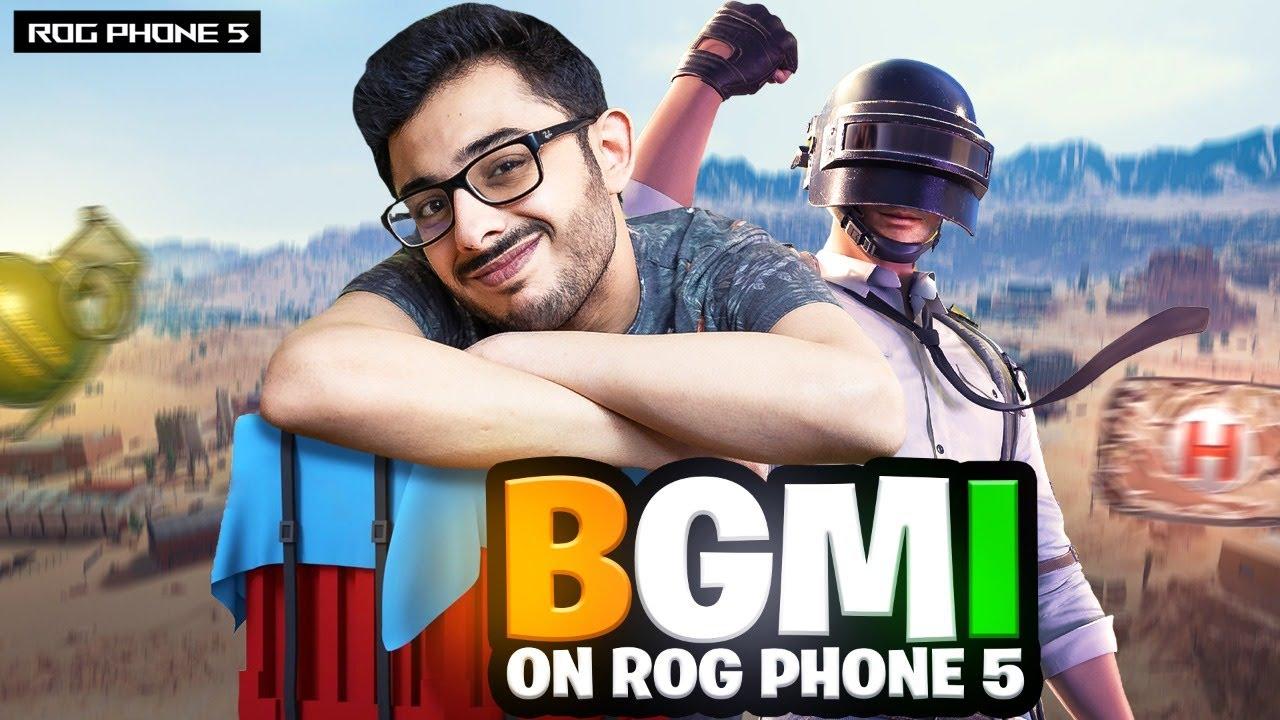 BGMI ON ROG PHONE 5!