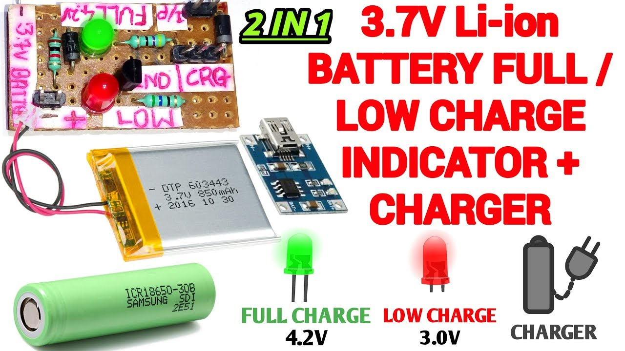3 7v Battery Charger Battery Charge Indicator Cheap Battery