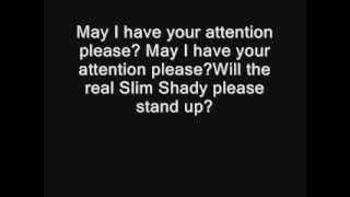 Video Eminem - The Real Slim Shady [UNCENCORED] [LYRICS] download MP3, 3GP, MP4, WEBM, AVI, FLV Juni 2018