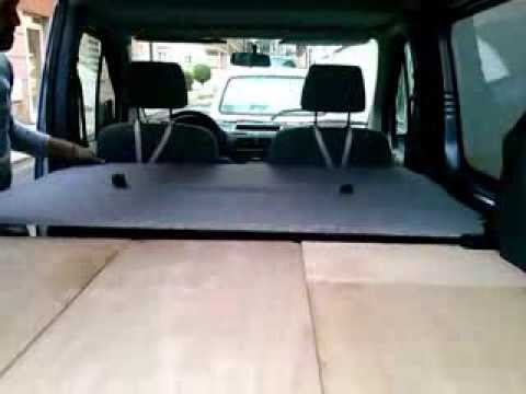 Ford Tourneo Connect Camper - YouTube