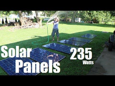 235watt Canadian Solar Panels