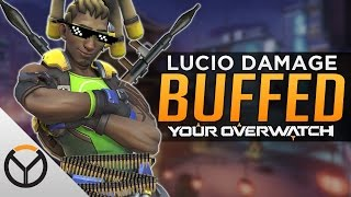Overwatch: Lucio the DPS - Damage Buff!