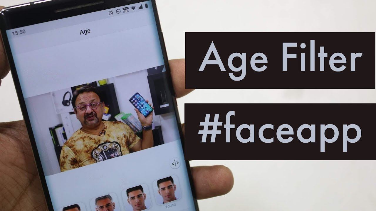 How to Use Viral Old Age Filter in FaceApp