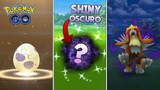 ¡CAPTURO SHINY OSCURO, ABRIENDO HUEVOS de 10KM & ENTEI OSCURO! - Pokémon Go