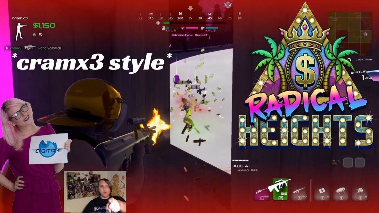 39d2d51ca WINNING Radical Heights Solo Xtreme Early Access *cramx3 style ...