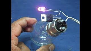 Amazing Idea's with BT136 & RGB LED New Idea Electricity