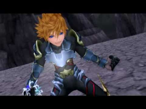 Kingdom Hearts Birth By Sleep: Ventus vs Vanitas Full Battle English (HQ)