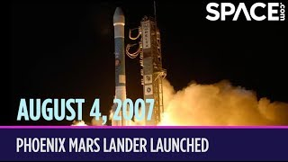 OTD in Space – August 4: Phoenix Mars Lander Launched