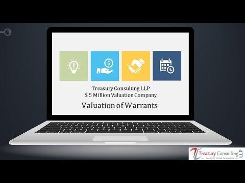 Valuation of Warrants