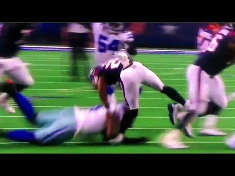 Lamar Miller GRUESOME Knee Injury (ACL TEAR) | Texans Vs Cowboys Preseason