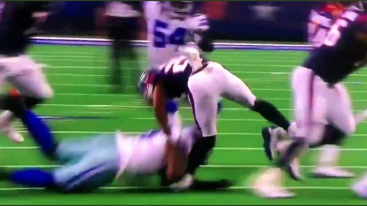 Lamar Miller GRUESOME Knee Injury | Texans vs Cowboys ...