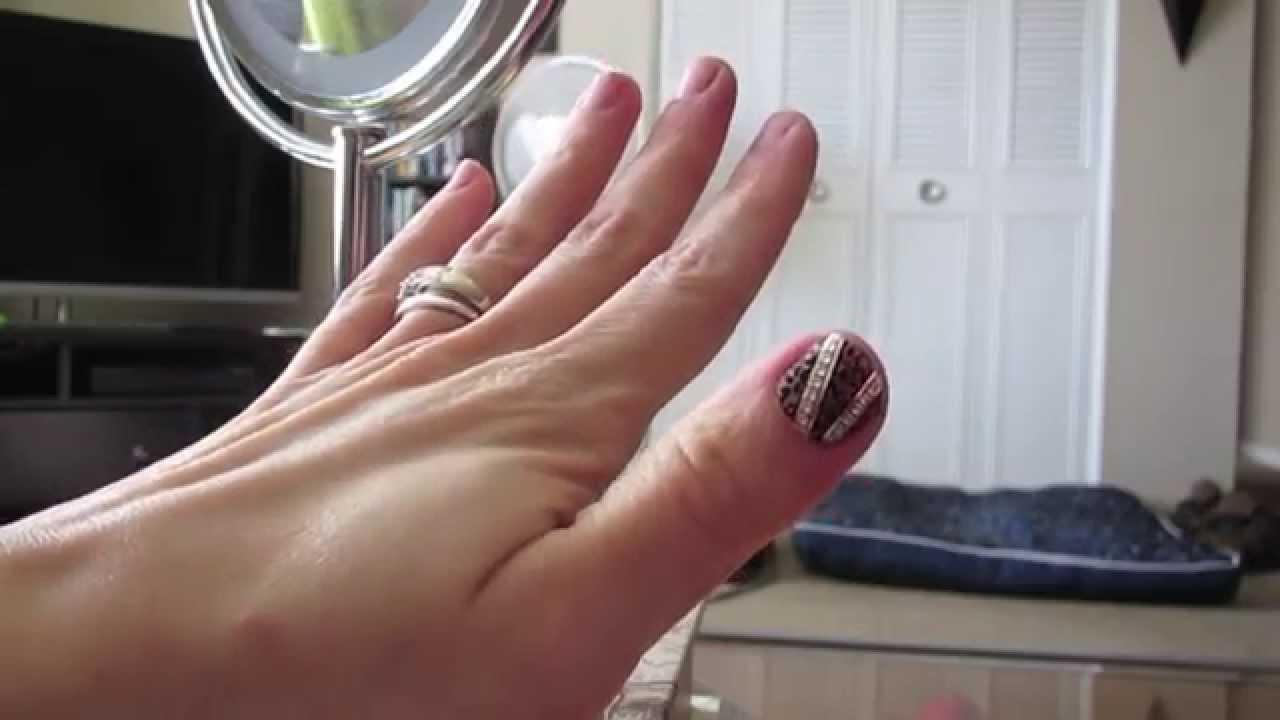 Review: Kiss Nail Strips!! - YouTube