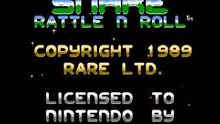Snake Rattle n Roll (NES) Music - Title Theme