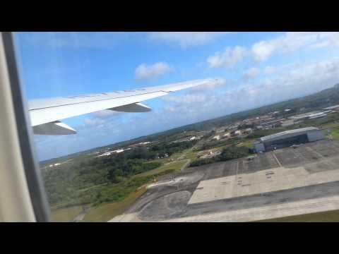 Jin air Boeing777-2B5/ER Take off guam
