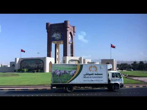 رحلة مسقط-دبي بالحافلة / Muscat to Dubai by Bus
