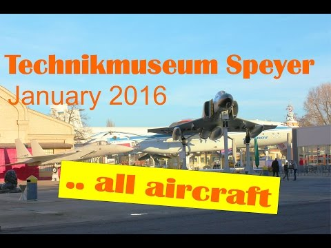 Aircraft compilation Technikmuseum Speyer - every plane in 2.25min - Slideshow