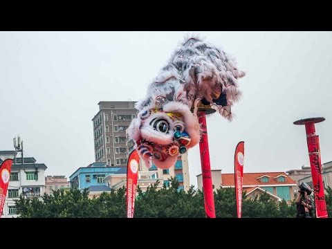 Lion dance gains popularity among the young in Hong Kong