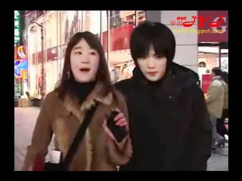 Jaejoong street interview before debut