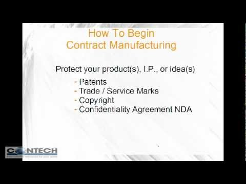 Contract Manufacturing - How To Start