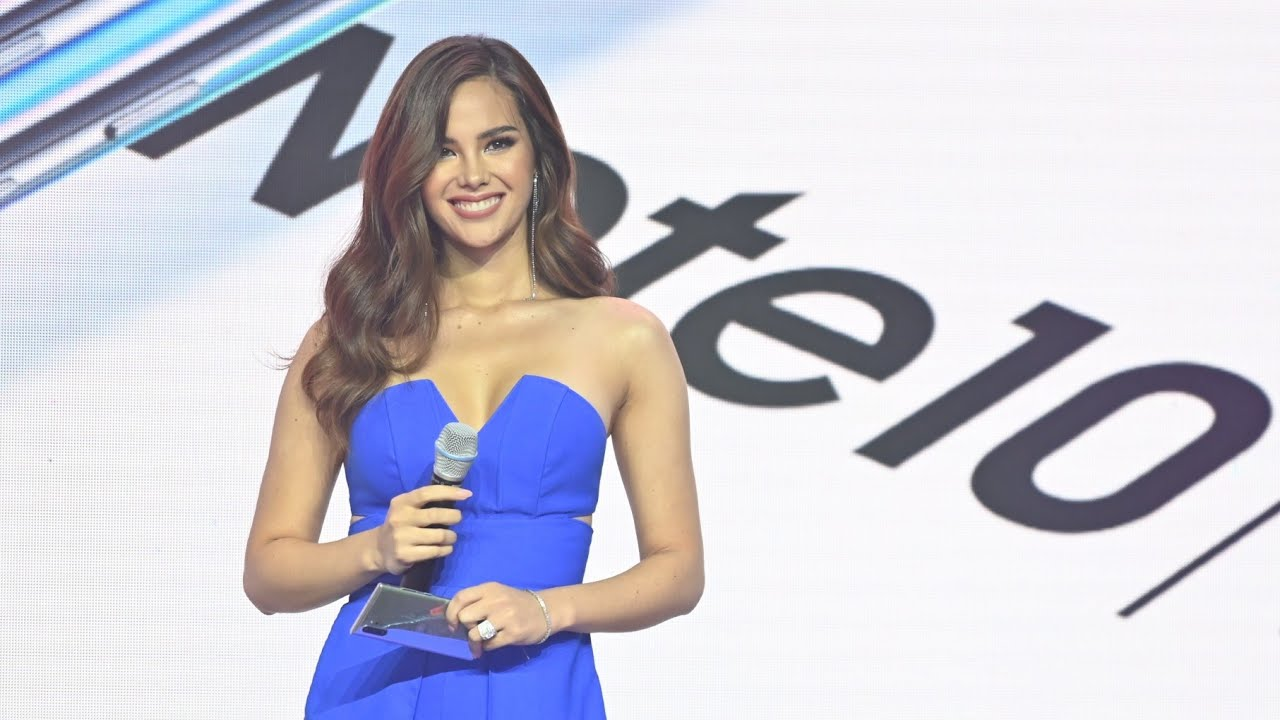 Miss Universe 2018 Catriona Gray joins Samsung Team Galaxy
